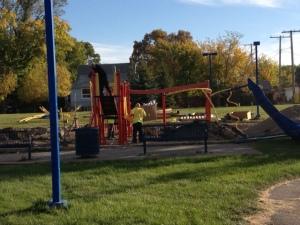 Core Playground construction